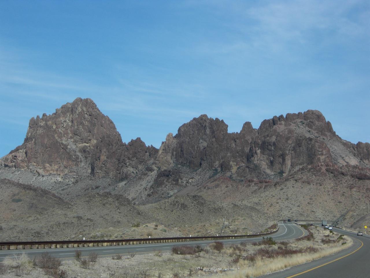 Mountain View On Our Way To Kingman, AZ