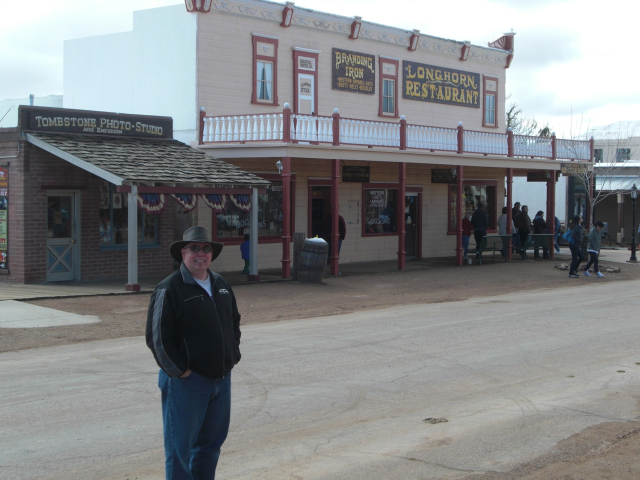 David Walking The Streets In Tombstone