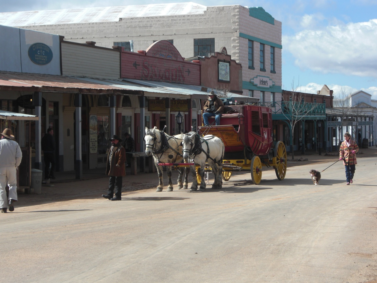 Tombstone Stage Coach on Main Street