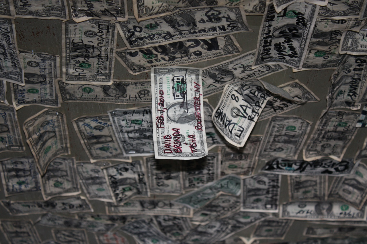 Our Dollar Is Up For All To See