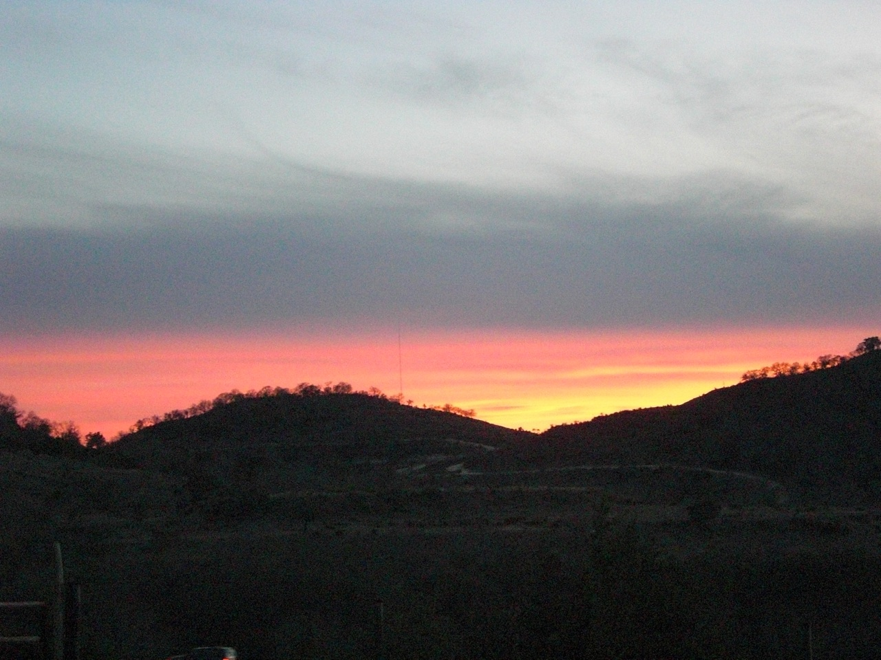 One of the Beautiful Sunsets Here in Hill Country