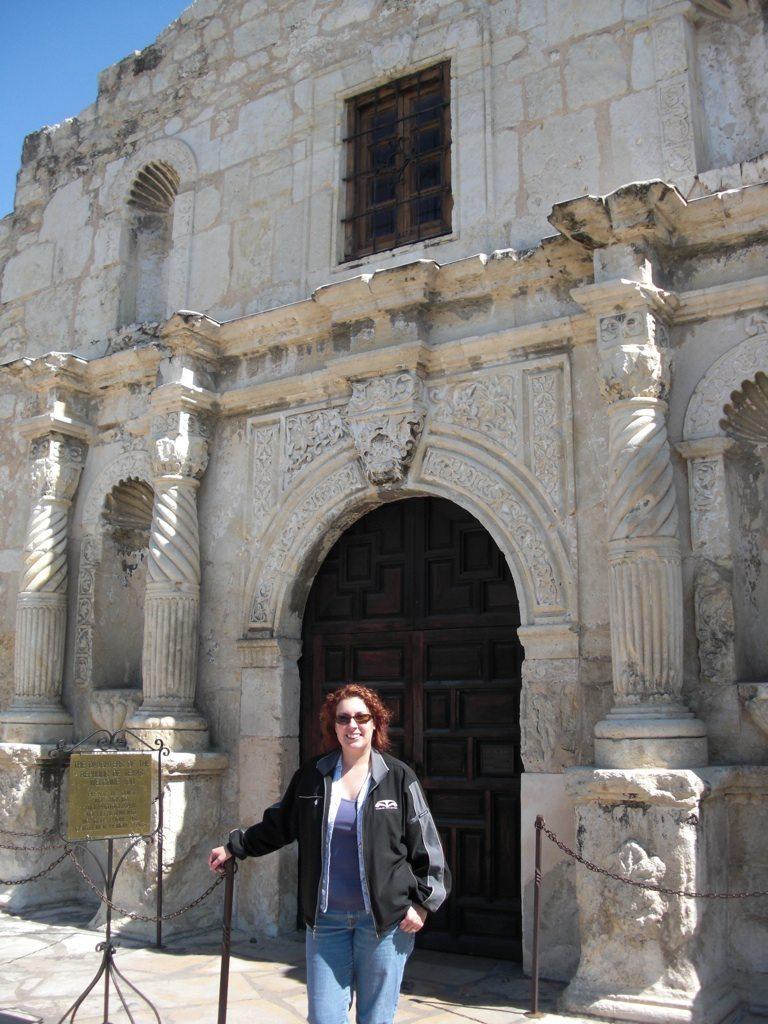 The Alamo Entrance