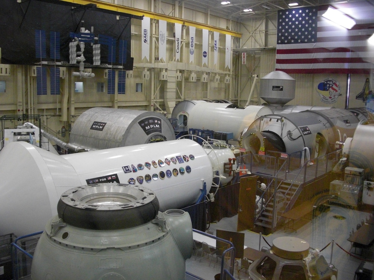 NASA Training Facility. These Are Actual Pods That the Astronauts Train In.