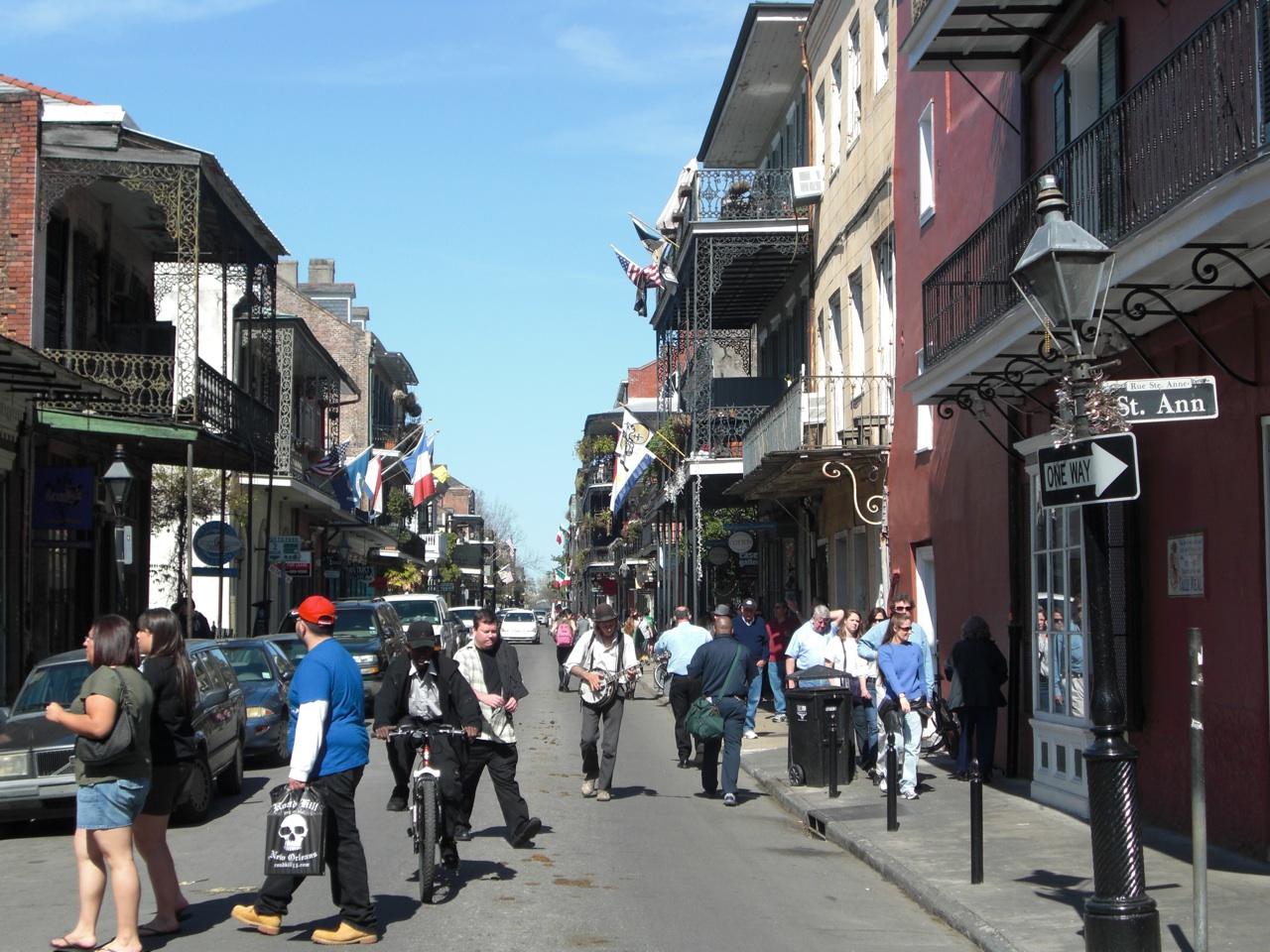 The Famous Bourbon Street