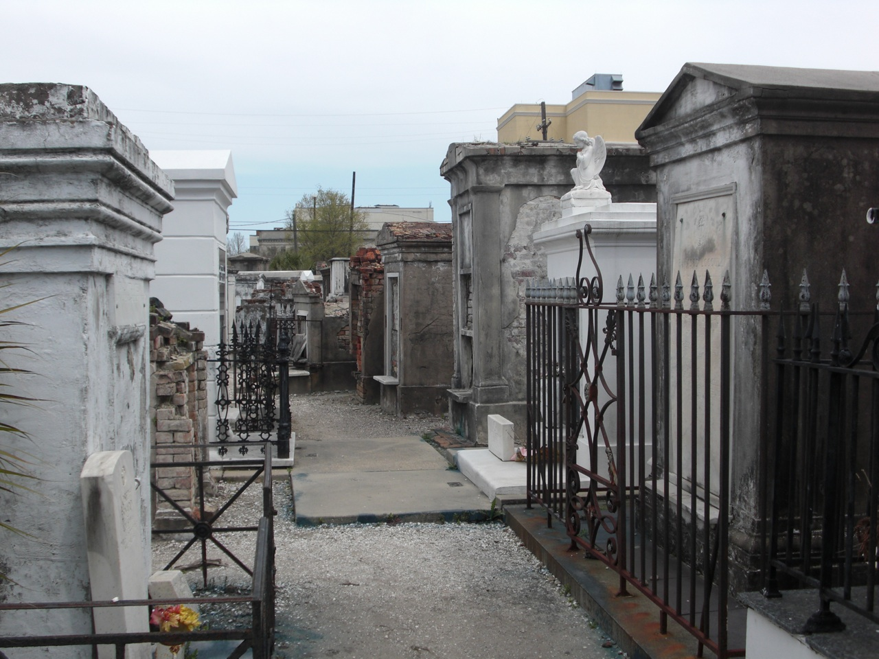 Rows and Rows of Tombs