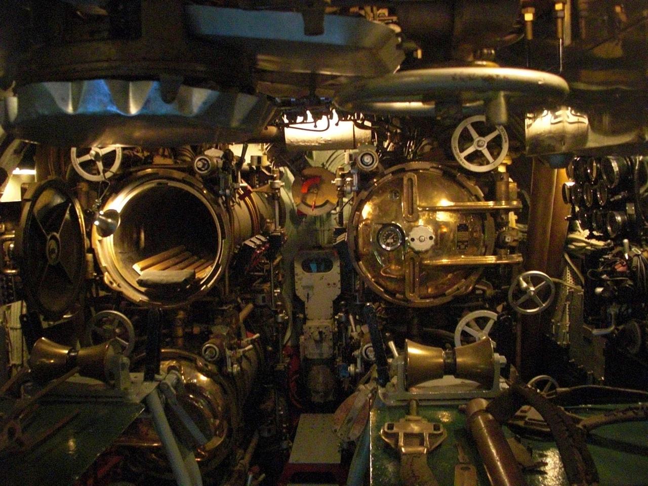 Torpedo Bays Inside The USS Drum