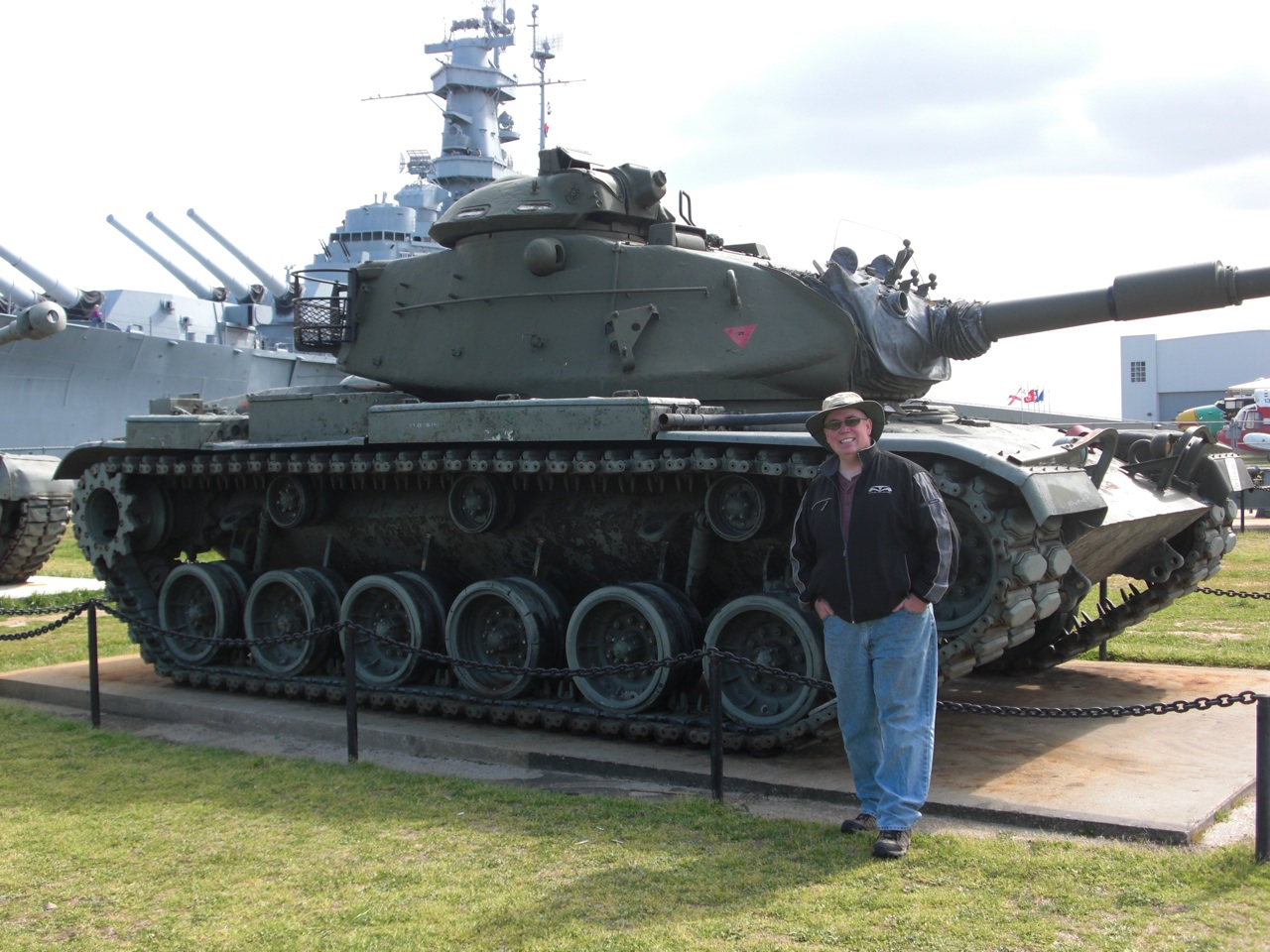David and a Tank