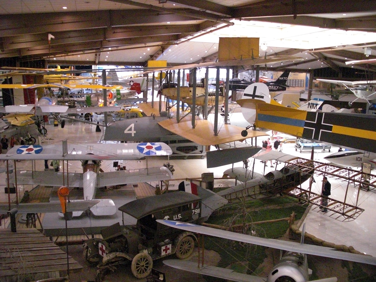 Lots of Planes to See Inside the Museum