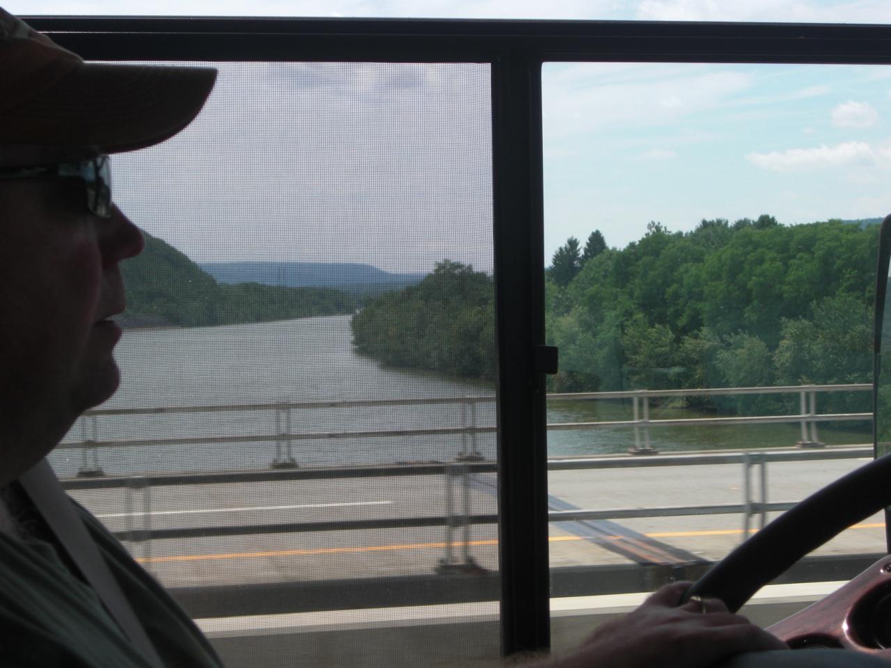 Allegany River In The Allegany State Park, New York