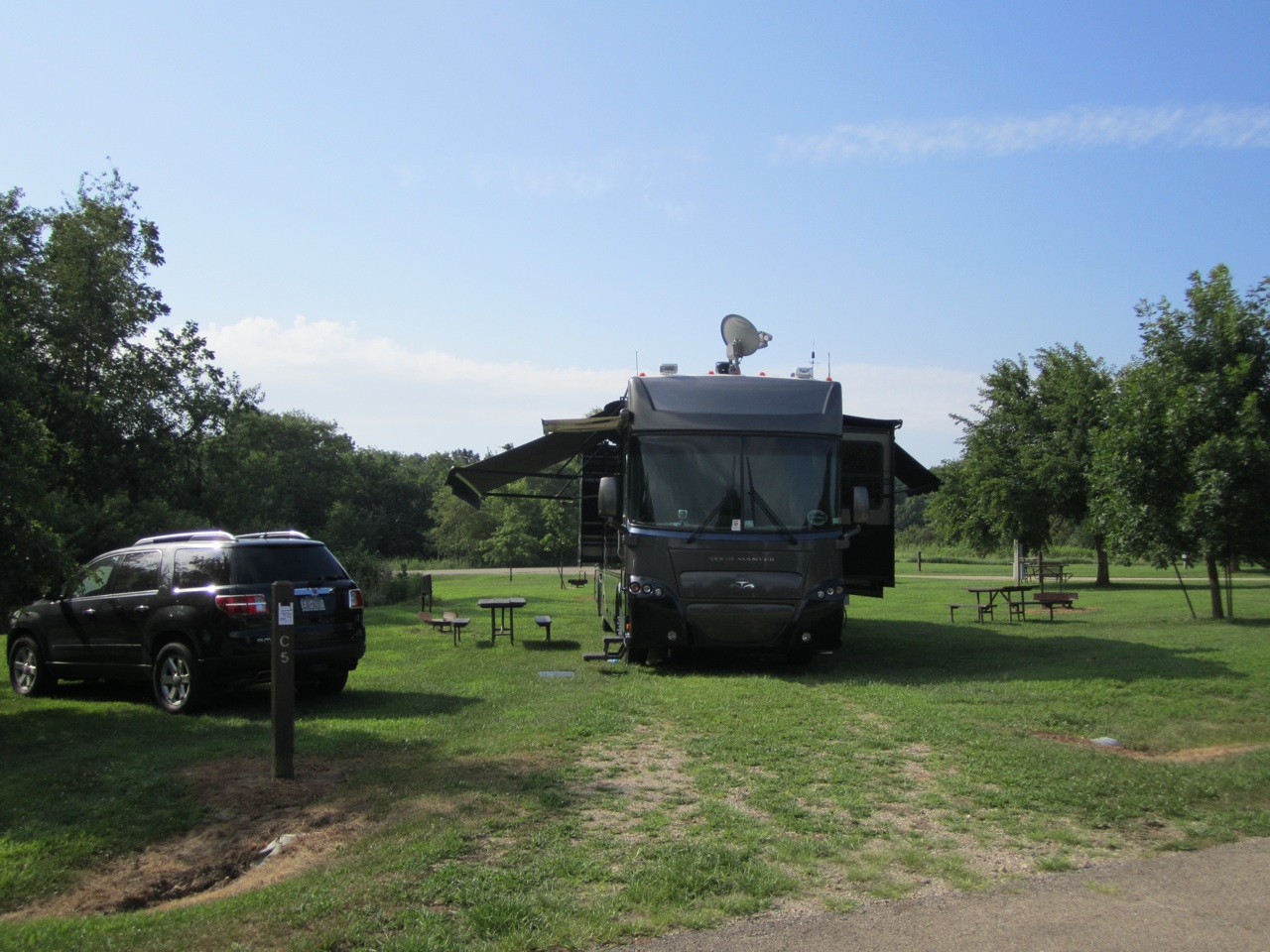Our Site At Jubilee College State Park In Brimfield, IL, Near Peoria, IL