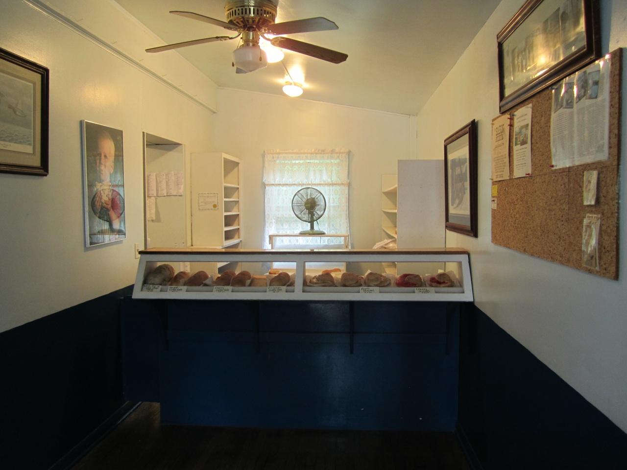 The Counter Inside Hahn's Bakery.