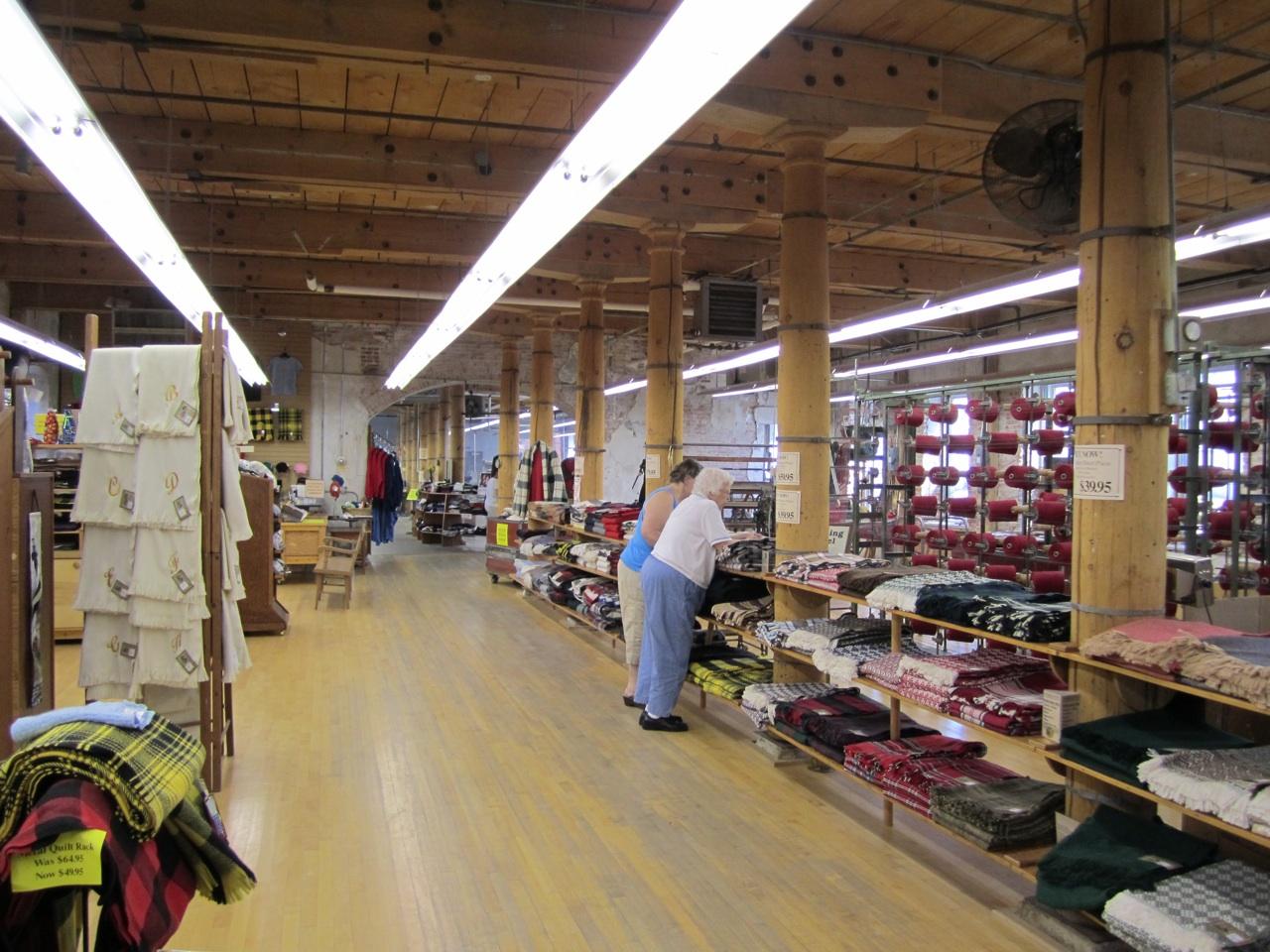 Inside The Amana Woolen Mill