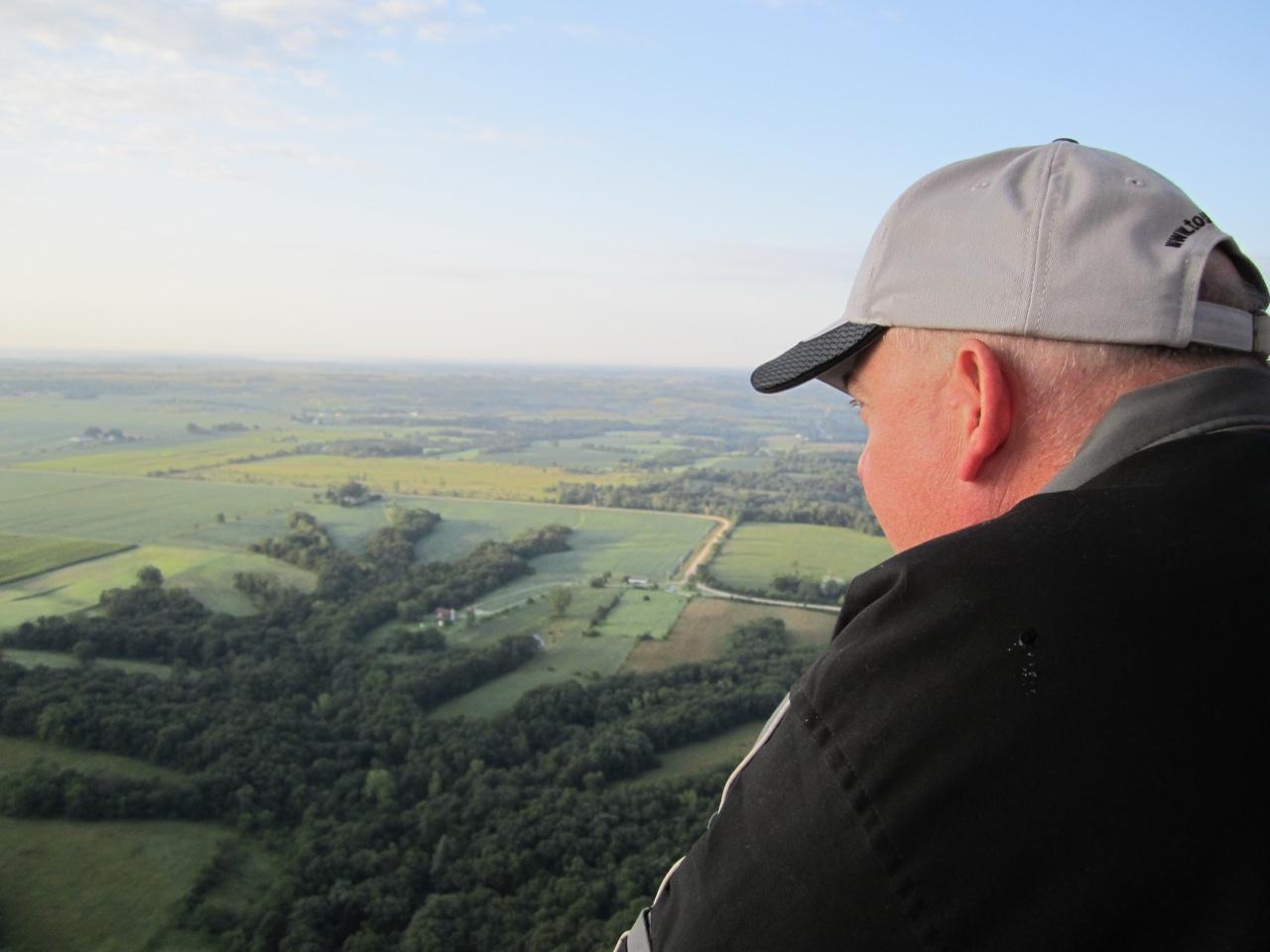 David Enjoying The View.