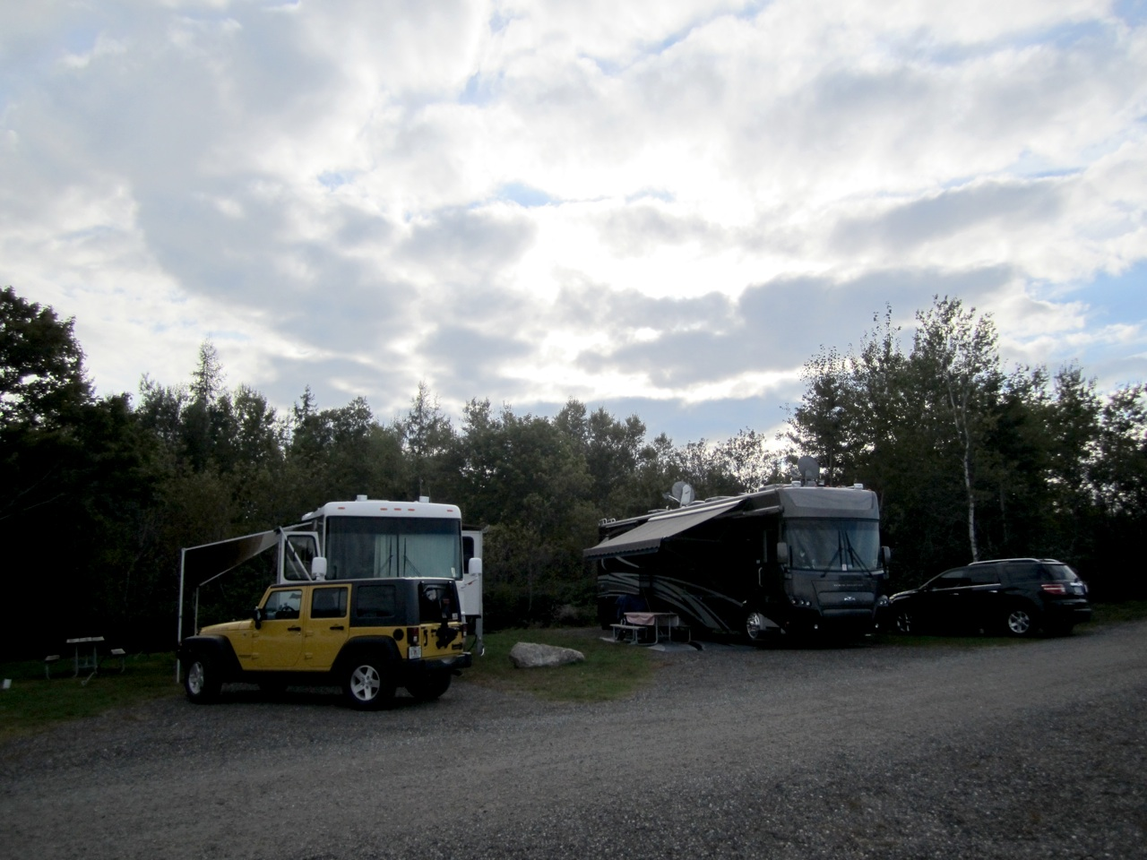 Our Motorhomes At Narrows Too Campground
