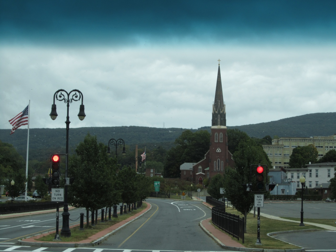 North Adams, Massachusetts.  Cute Town On Our Route.