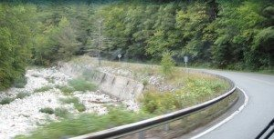 Sorry For The Blurriness.   This Is A Riverbed Alongside The Road.  Route 7 In Massachusetts.
