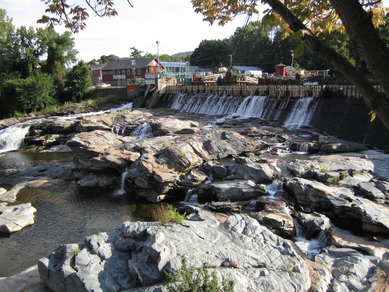 Glacial Pot Holes In Shelburne Falls, Massachusetts