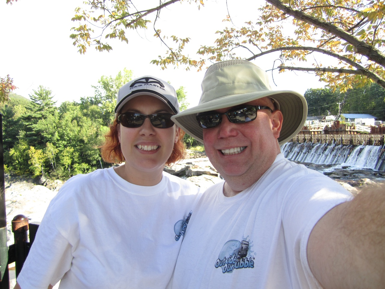 David & Brenda in Shelburne Falls, Massachusetts