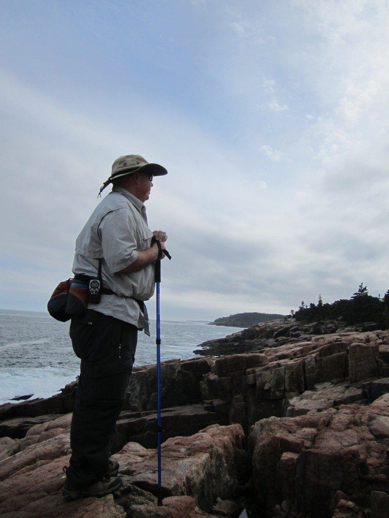 David On Hike In Acadia National Park
