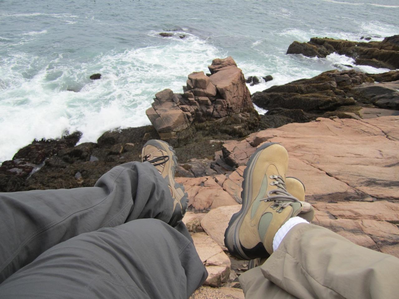 David & Brenda Taking In The Scenery In Acadia National Park