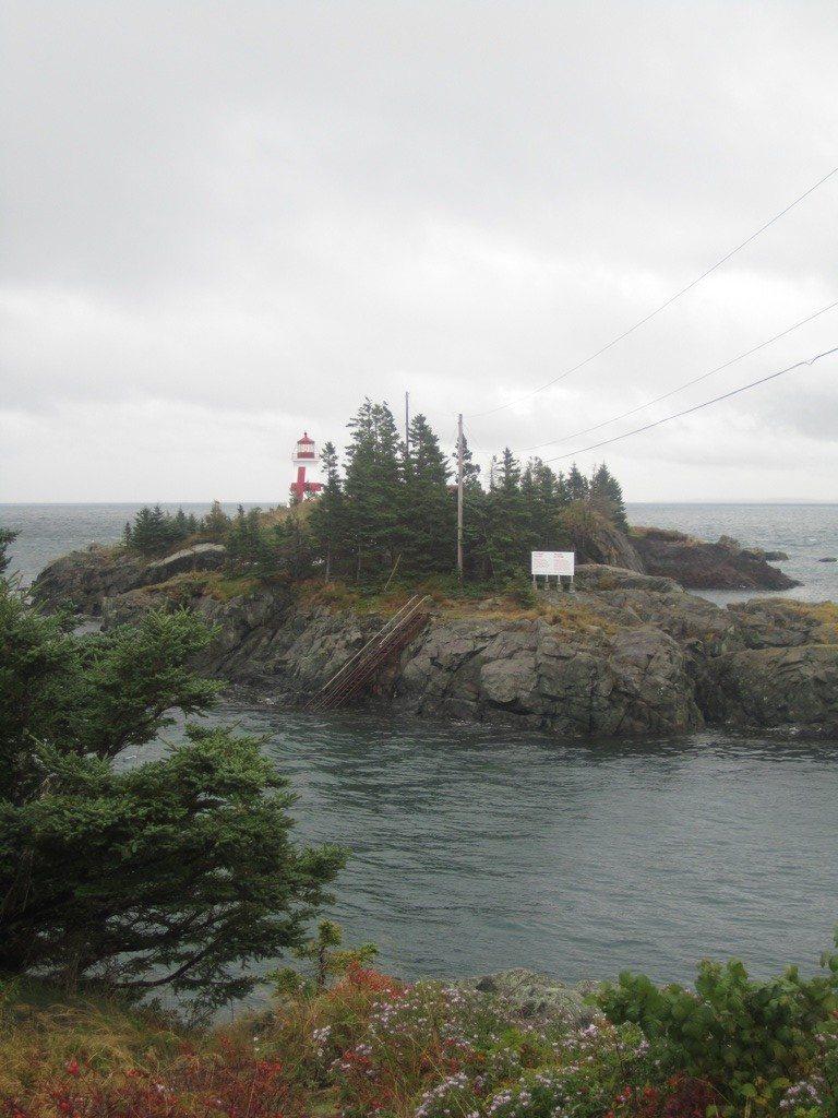 East Quoddy Lighthouse On Campobello Island, Canada.