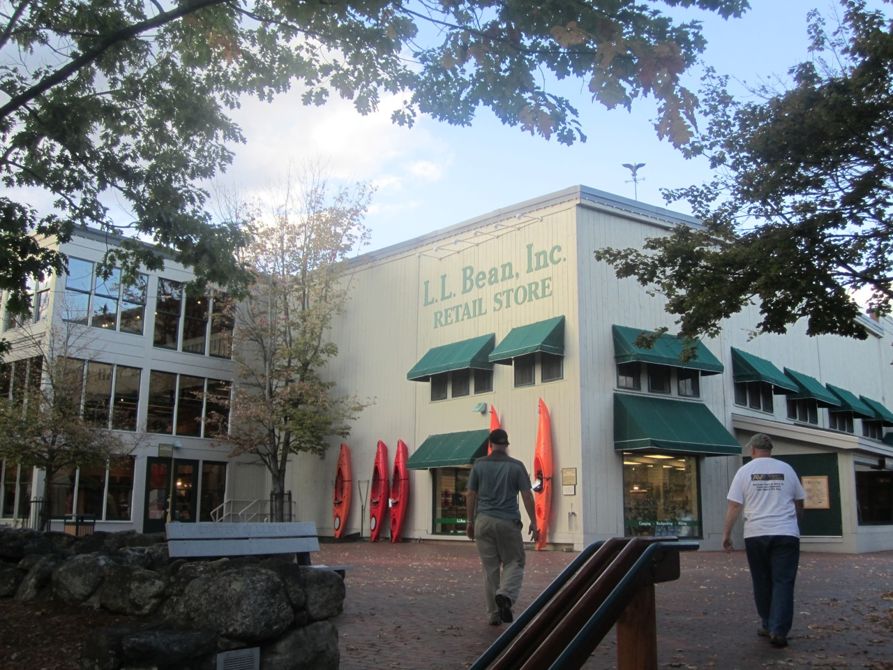 LL Bean's Flagship Store In Freeport, Maine