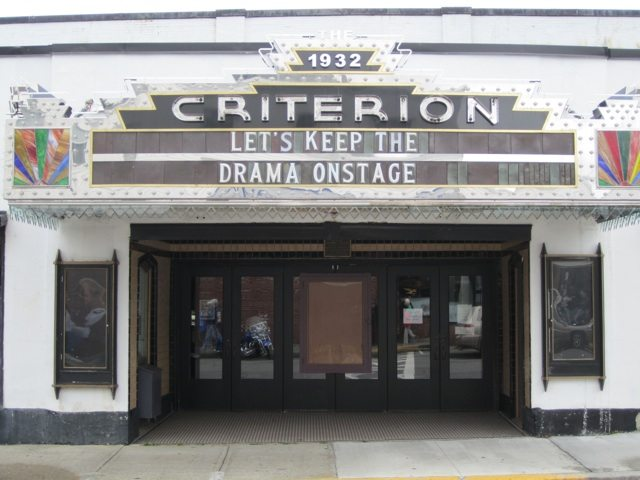 The Criterion Theater In Bar Harbor, Maine