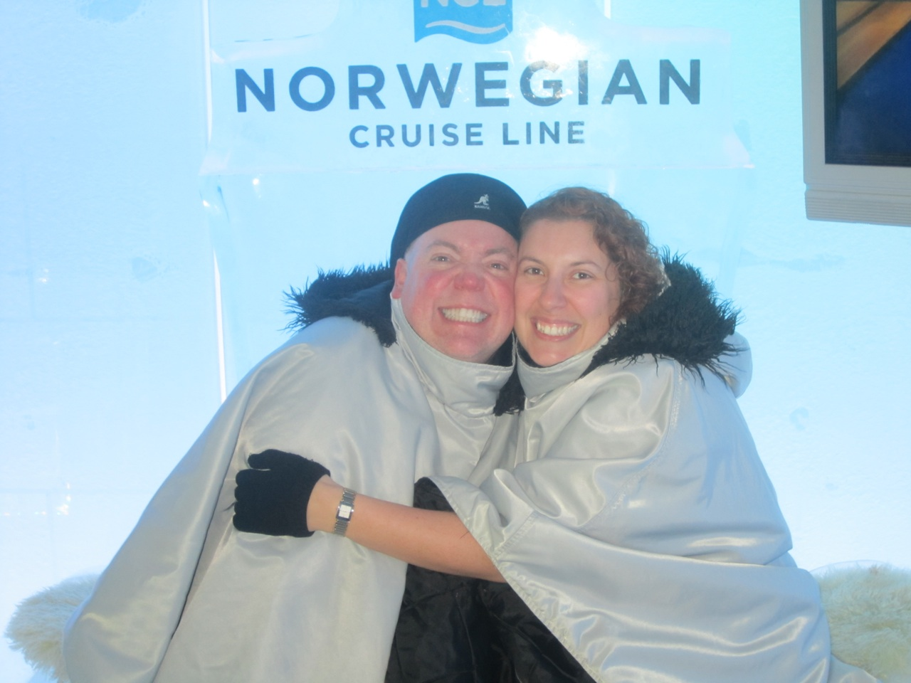 There Was An Ice Bar Onboard.  They Keep It A Cool 17 Degrees.