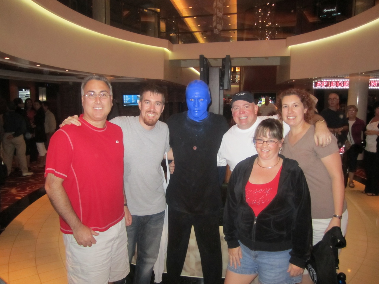 Blue Man Group Was Onboard. The Show Was Awesome As Ever!