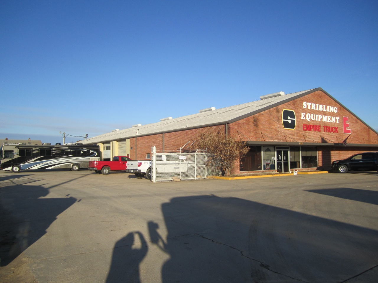 The Shop We Left in Meridian, MS on Monday
