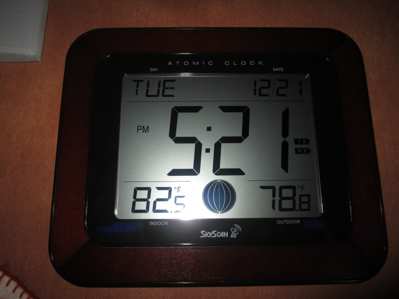 First Official Day Of Winter And It's 78 Degrees At 5:21 At Night Here In Longview, TX
