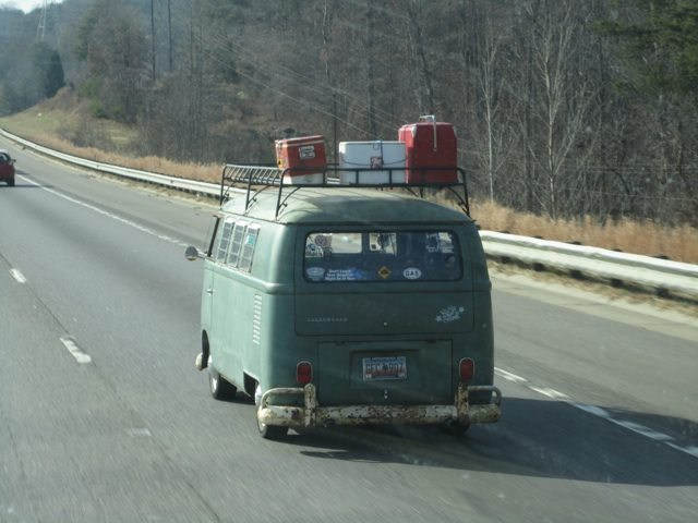 This Is Just A Really Cool Looking Old Volkswagon We Saw While Driving In NC.