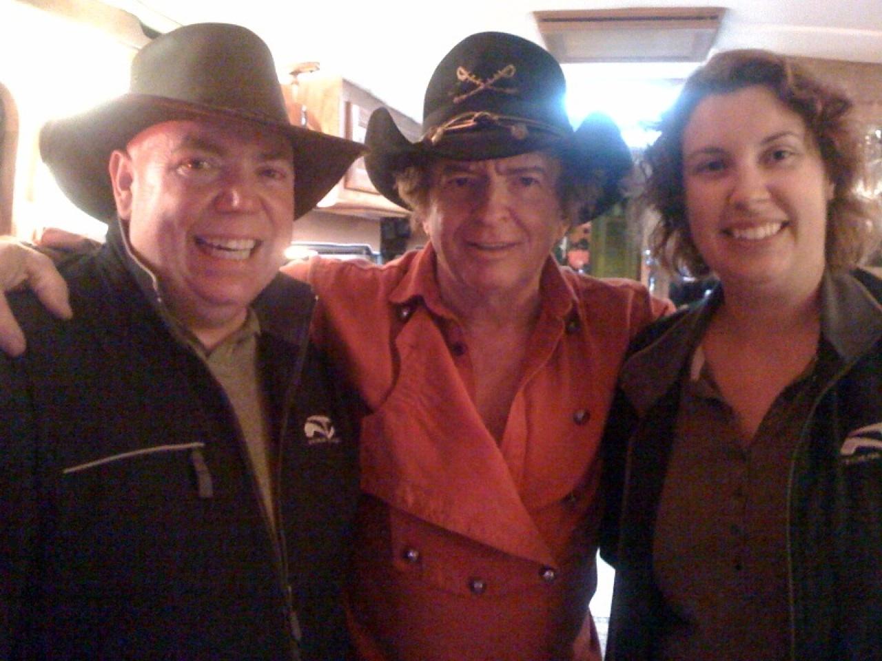 David, Brenda & Bobby Freeman Inside His MH