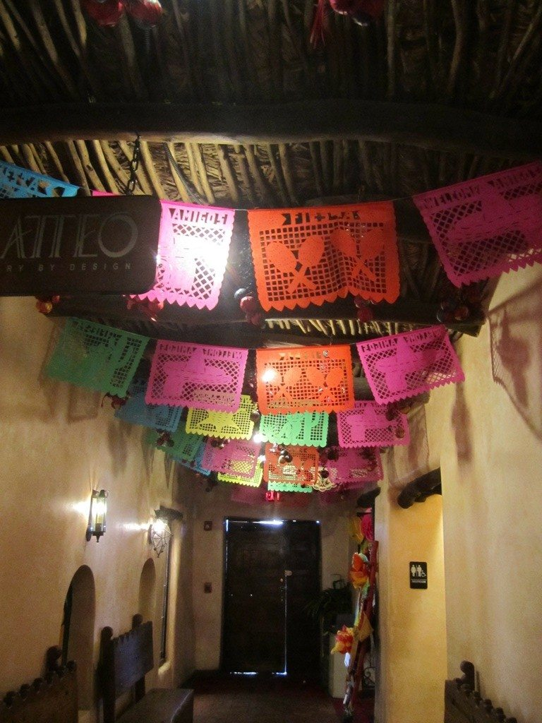Entrance (From The Inside) To La Posta Restaurant