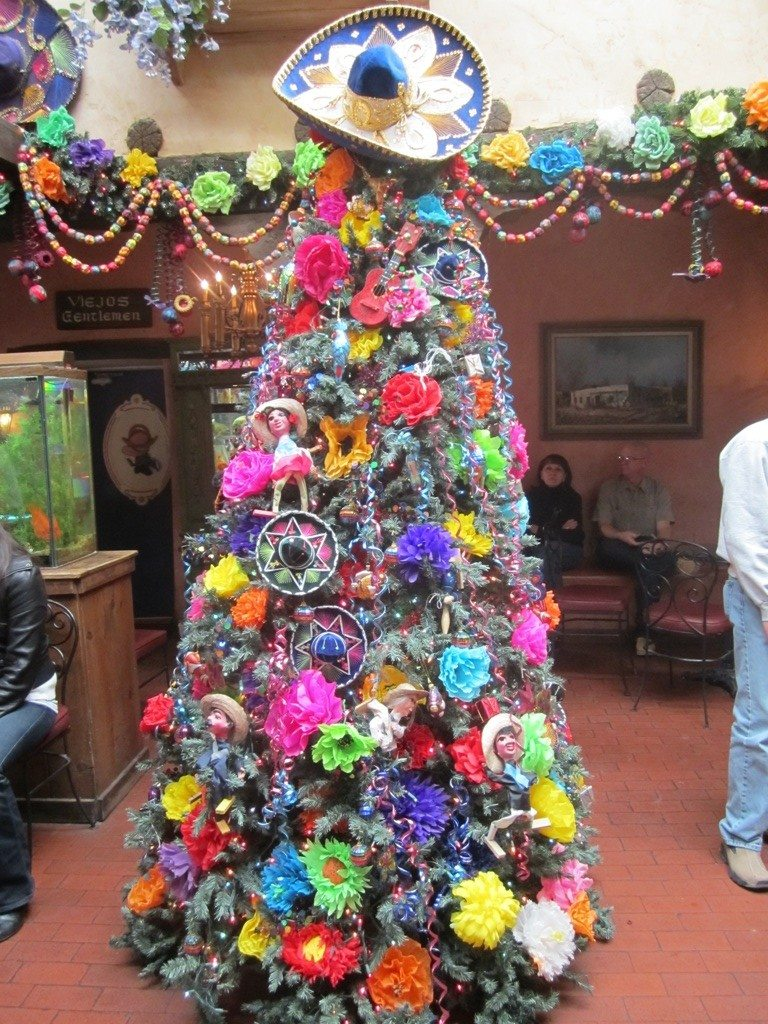 A Christmas Tree That Only Works In A Place Like This