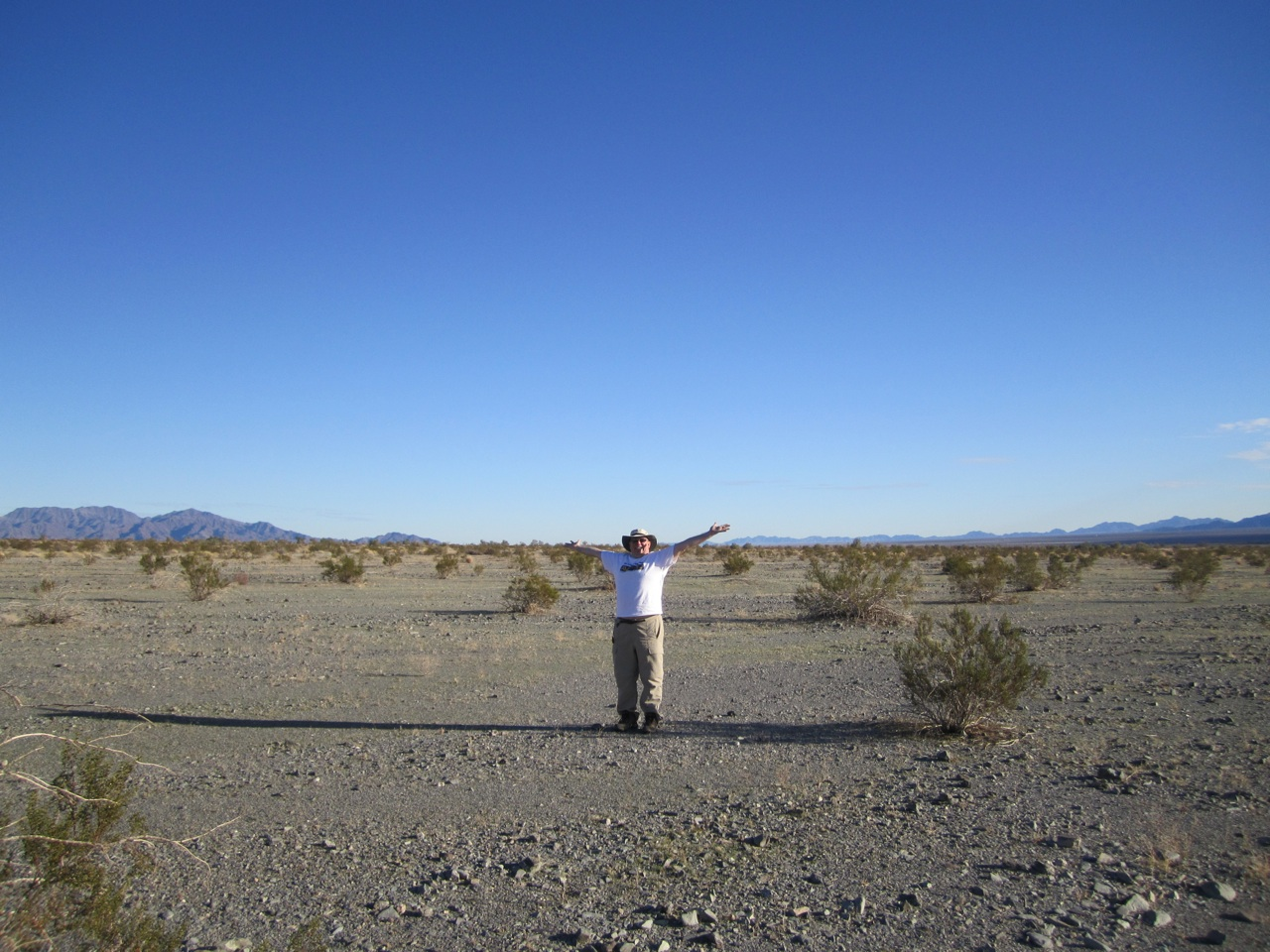 David In The Desert Geocaching