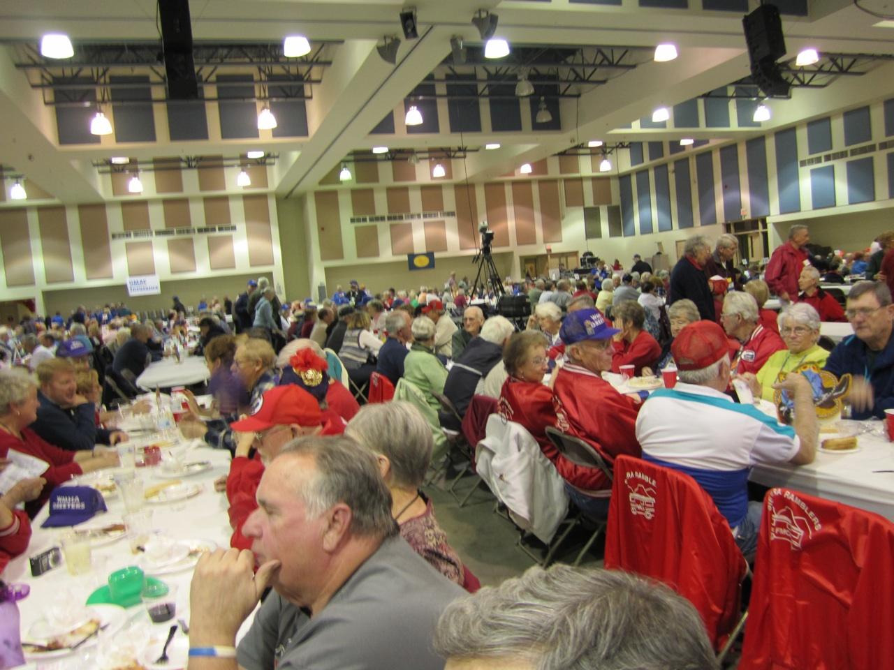 Lots Of People At The Volunteer Dinner
