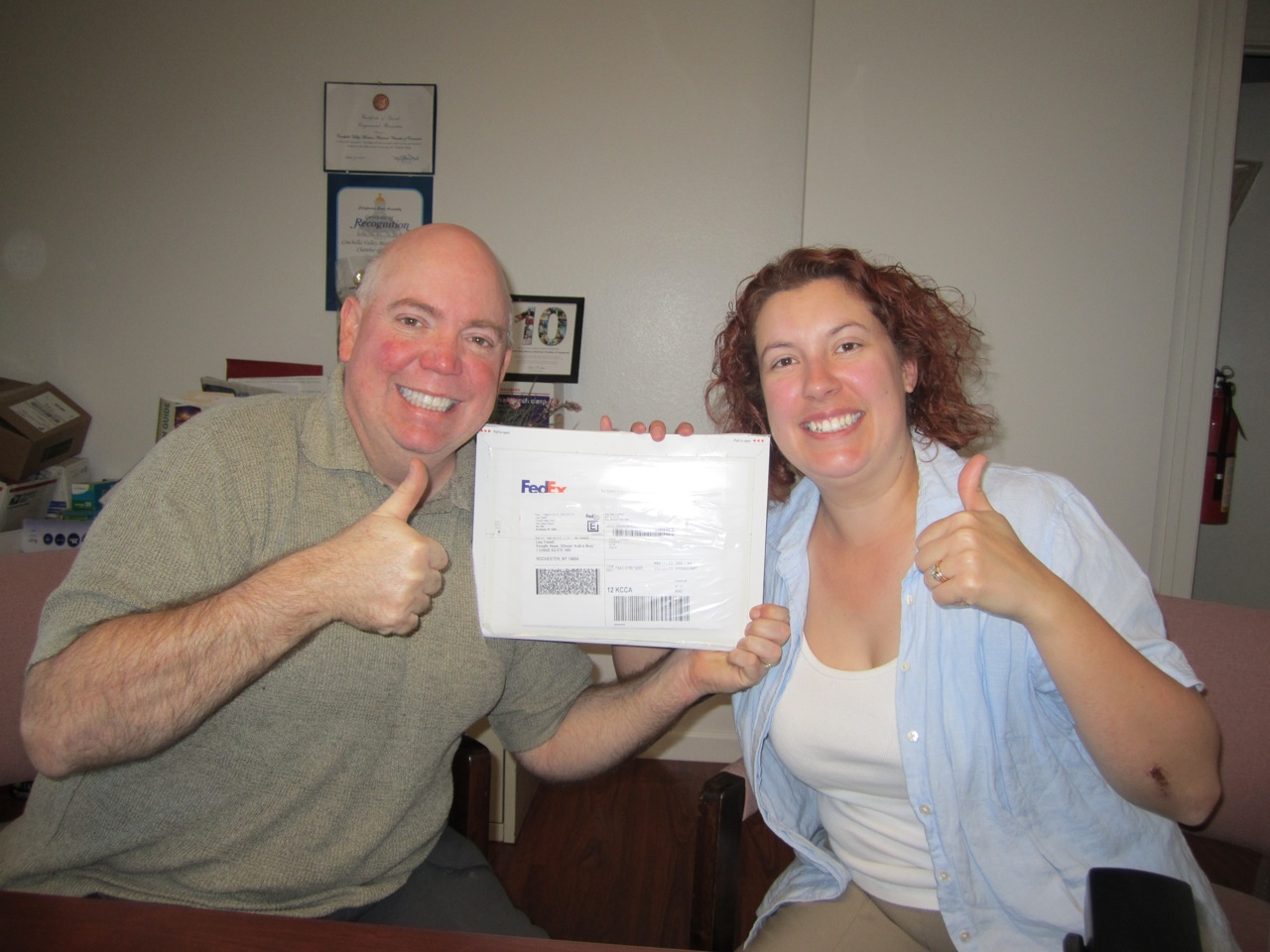 David & Brenda Finally Closed On The Refinance Of Our Home Mortgage.