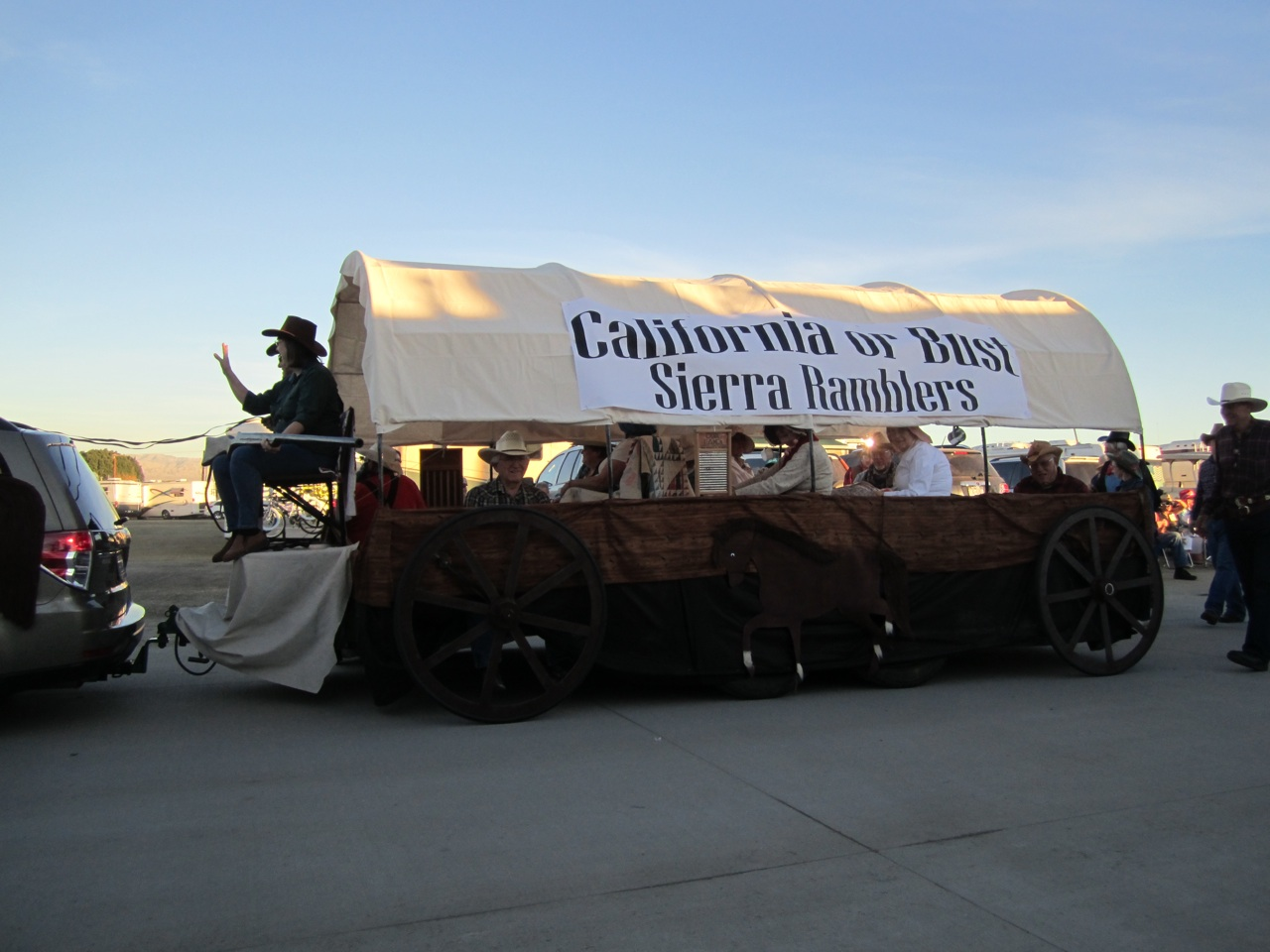 The Sierra Rambler's Entry In The Parade