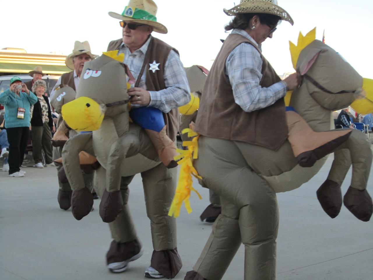"""People In The Parade On Their """"Horses"""""""