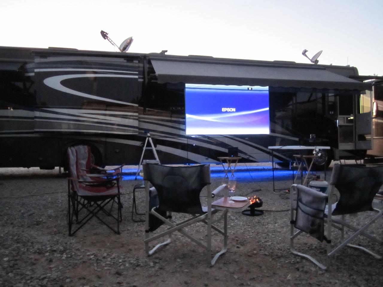 Movies Under The Stars In Quartzsite, AZ