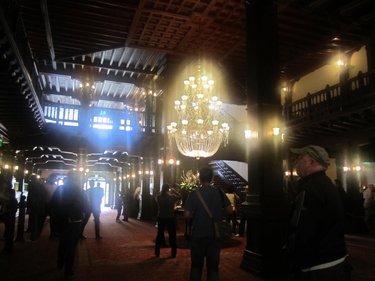 The Main Lobby Inside The Hotel del Coronado