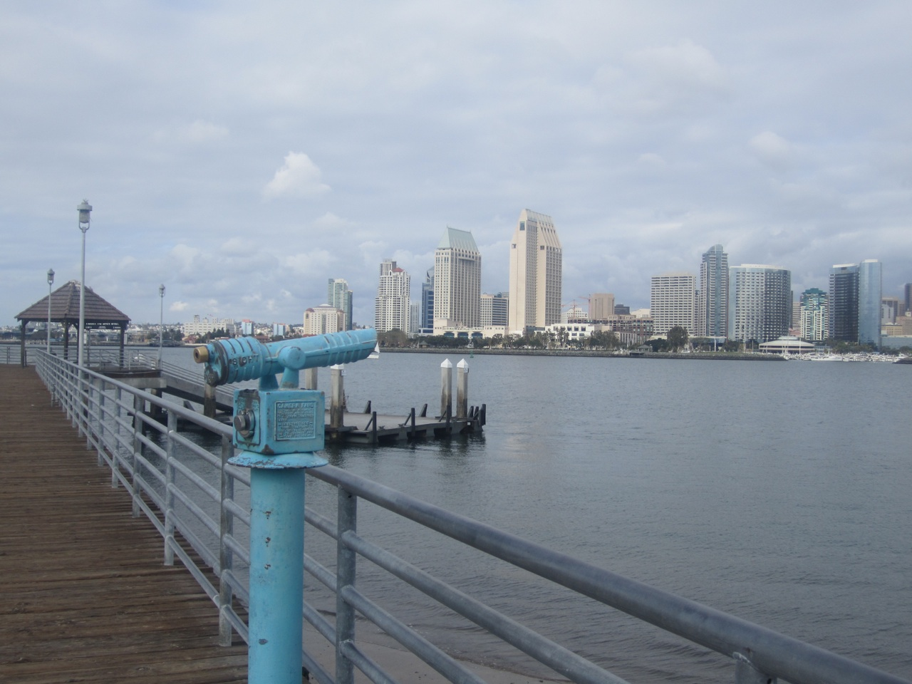 View Of San Diego Across The Bay
