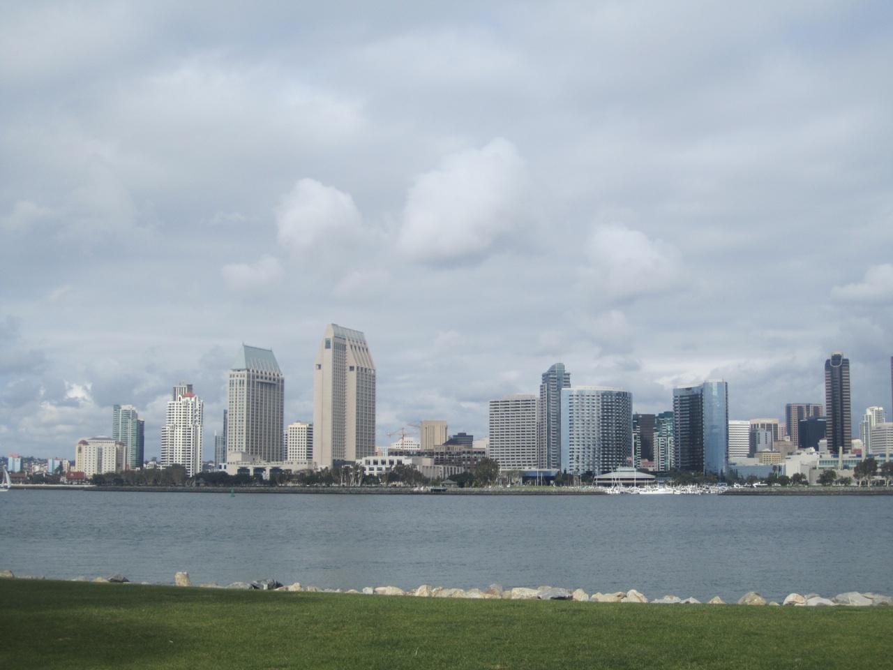 The View Of San Diego From Ferry Landing