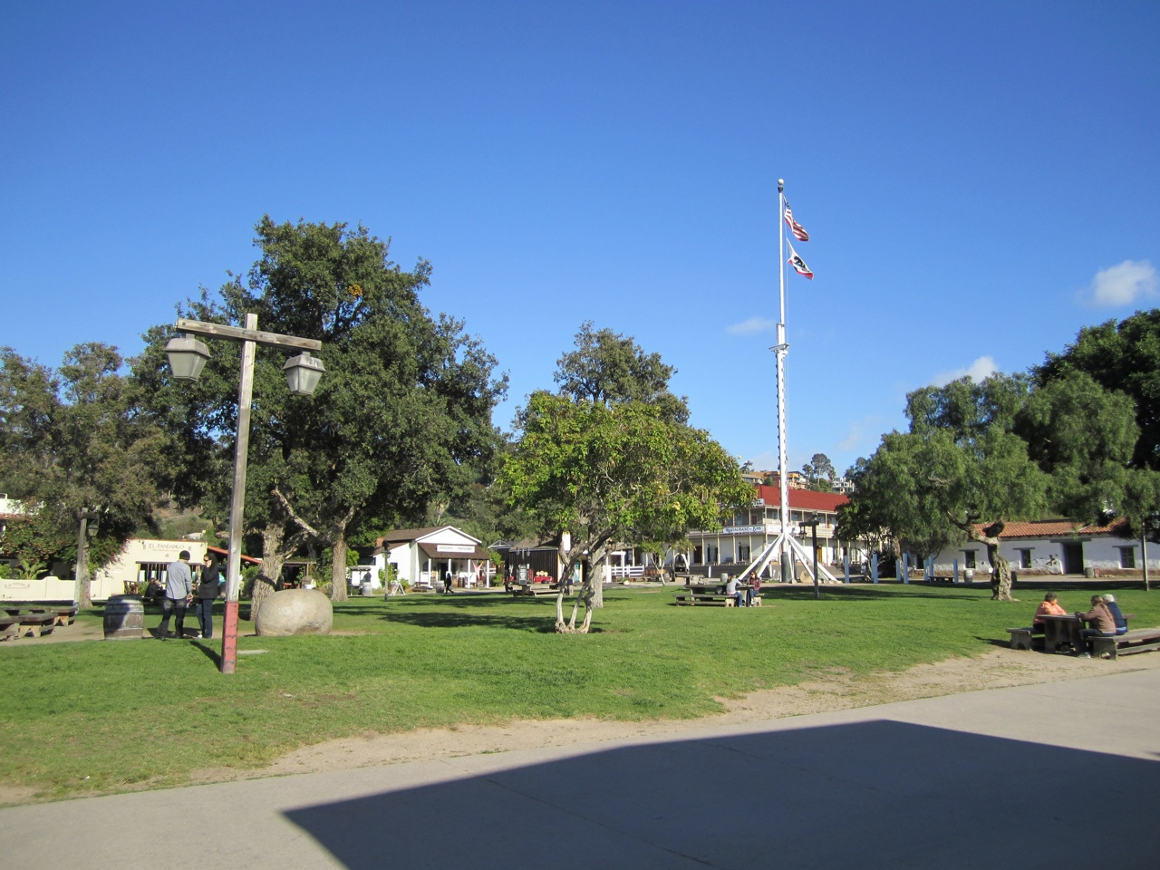 The Plaza That The First American Flag Was Raised In 1846
