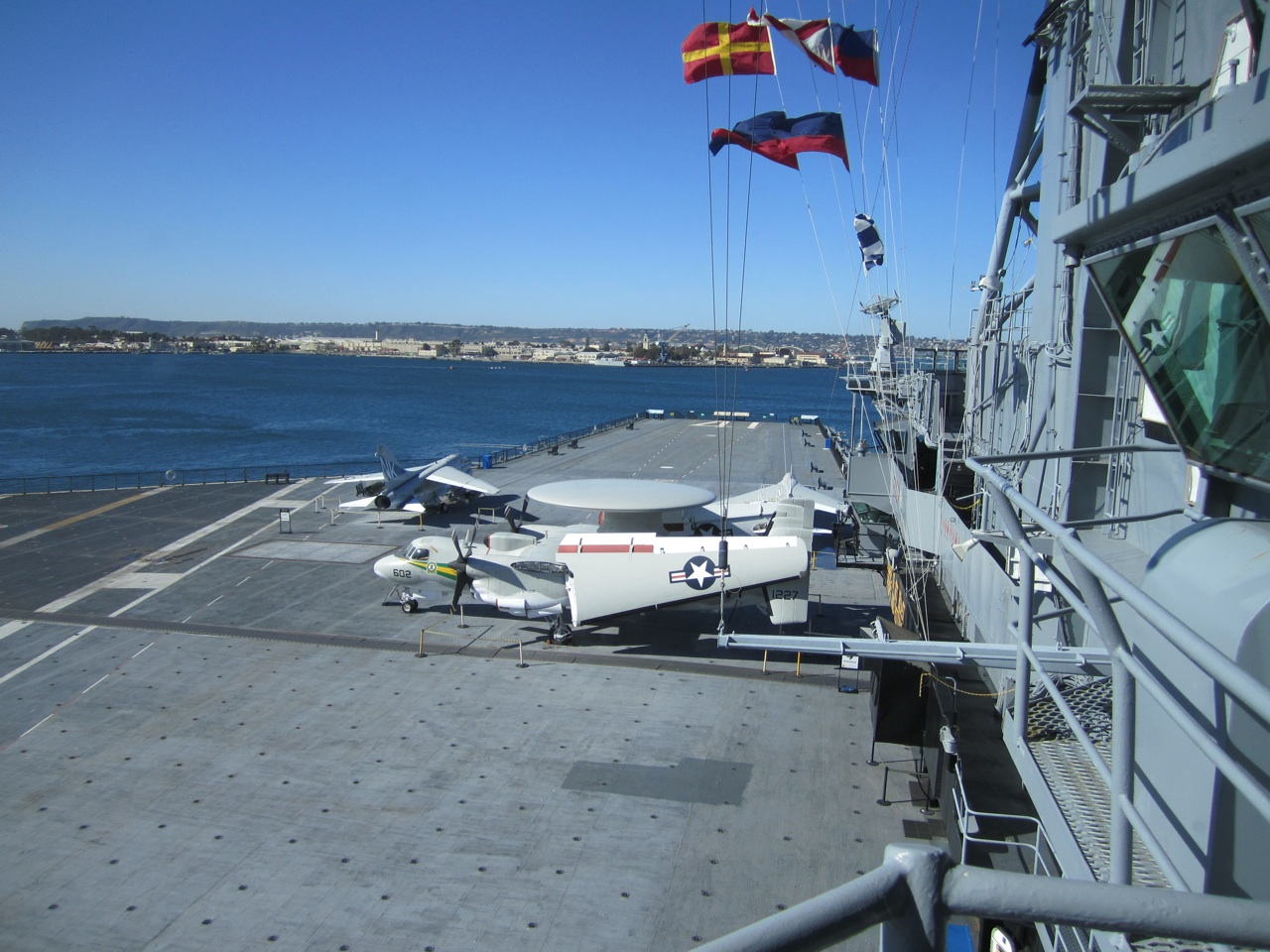 Another Angle On The Flight Deck Aboard The USS Midway