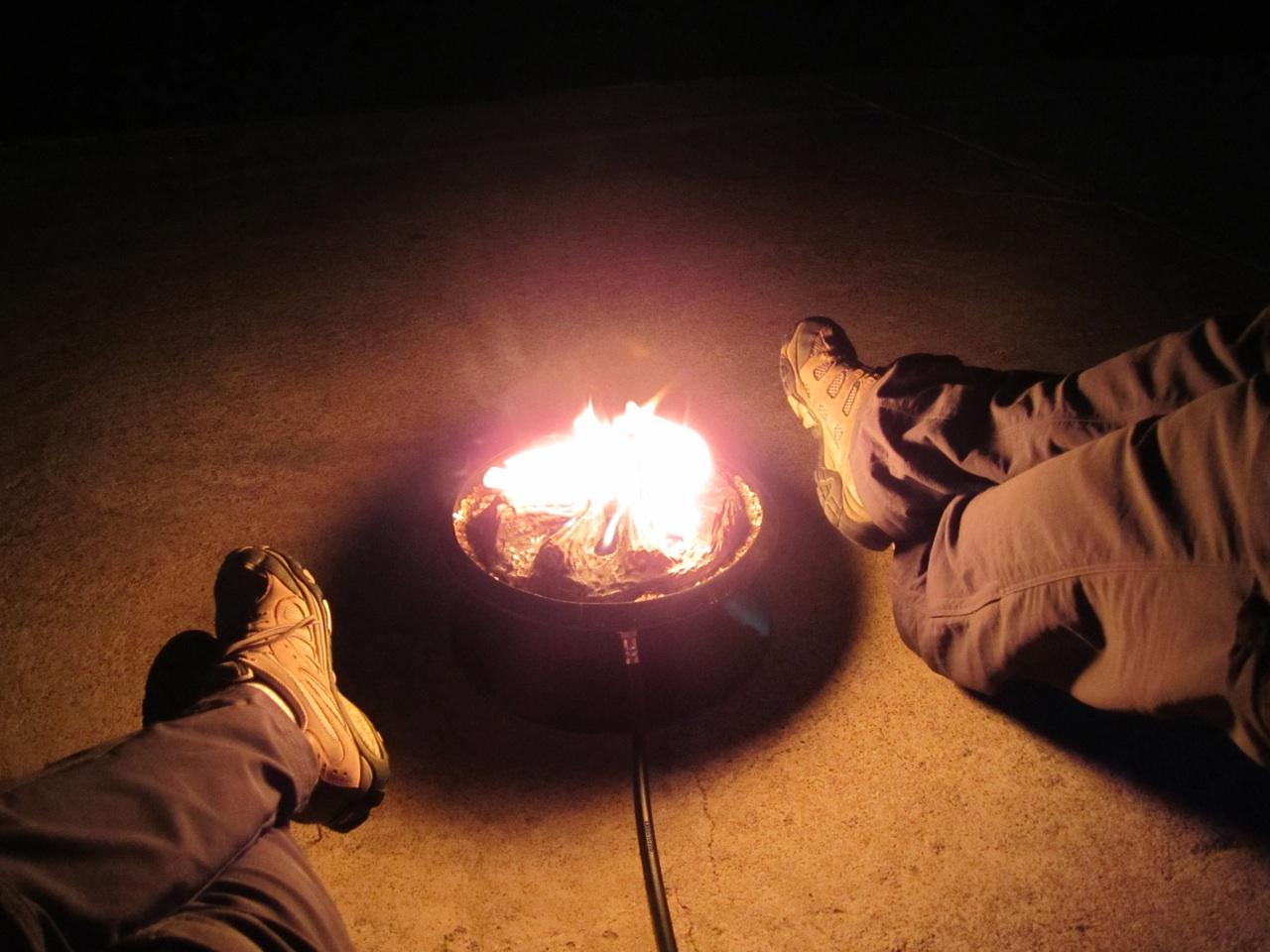 Our Portable Campfire