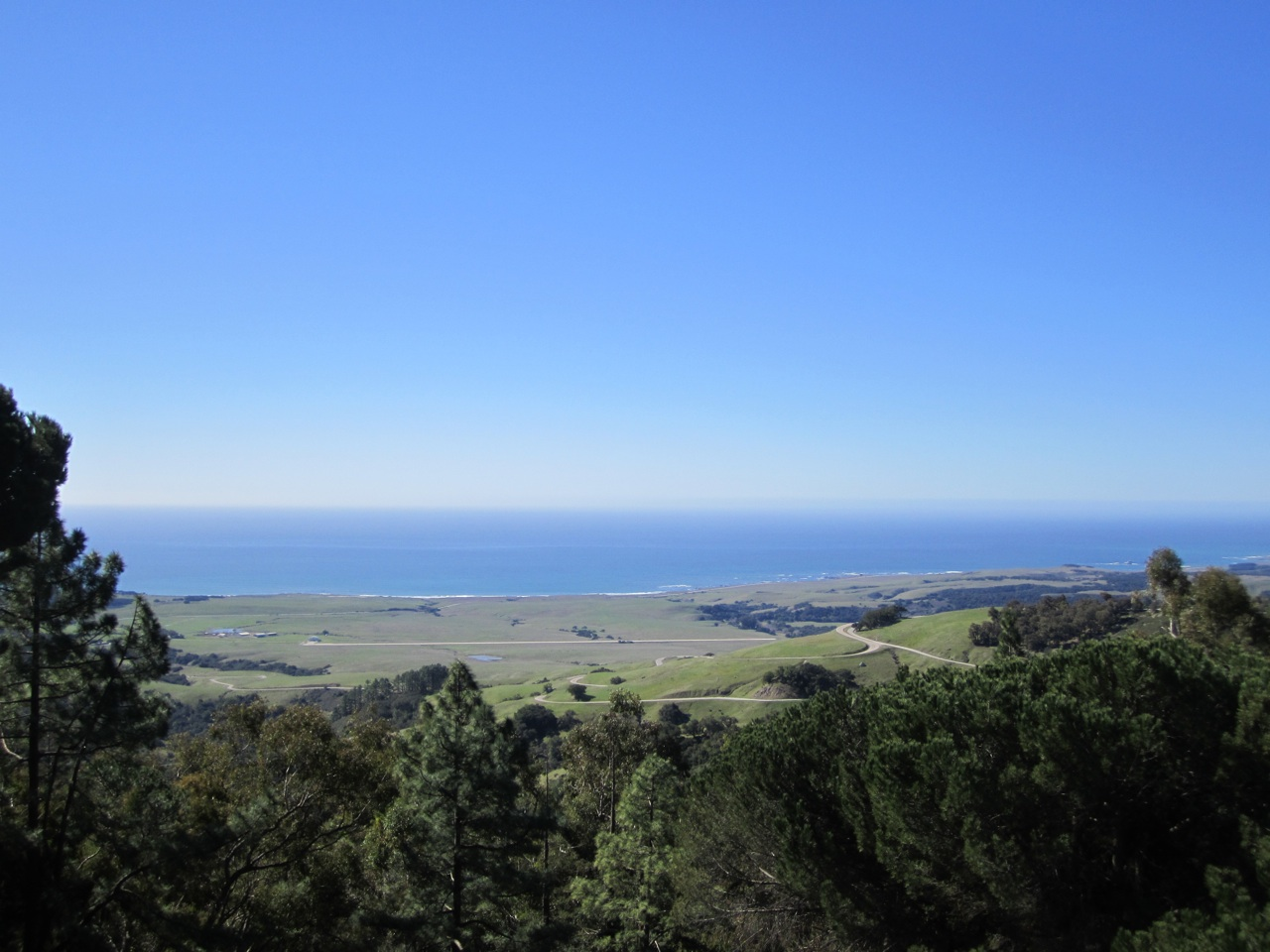 A View From Hearst Castle