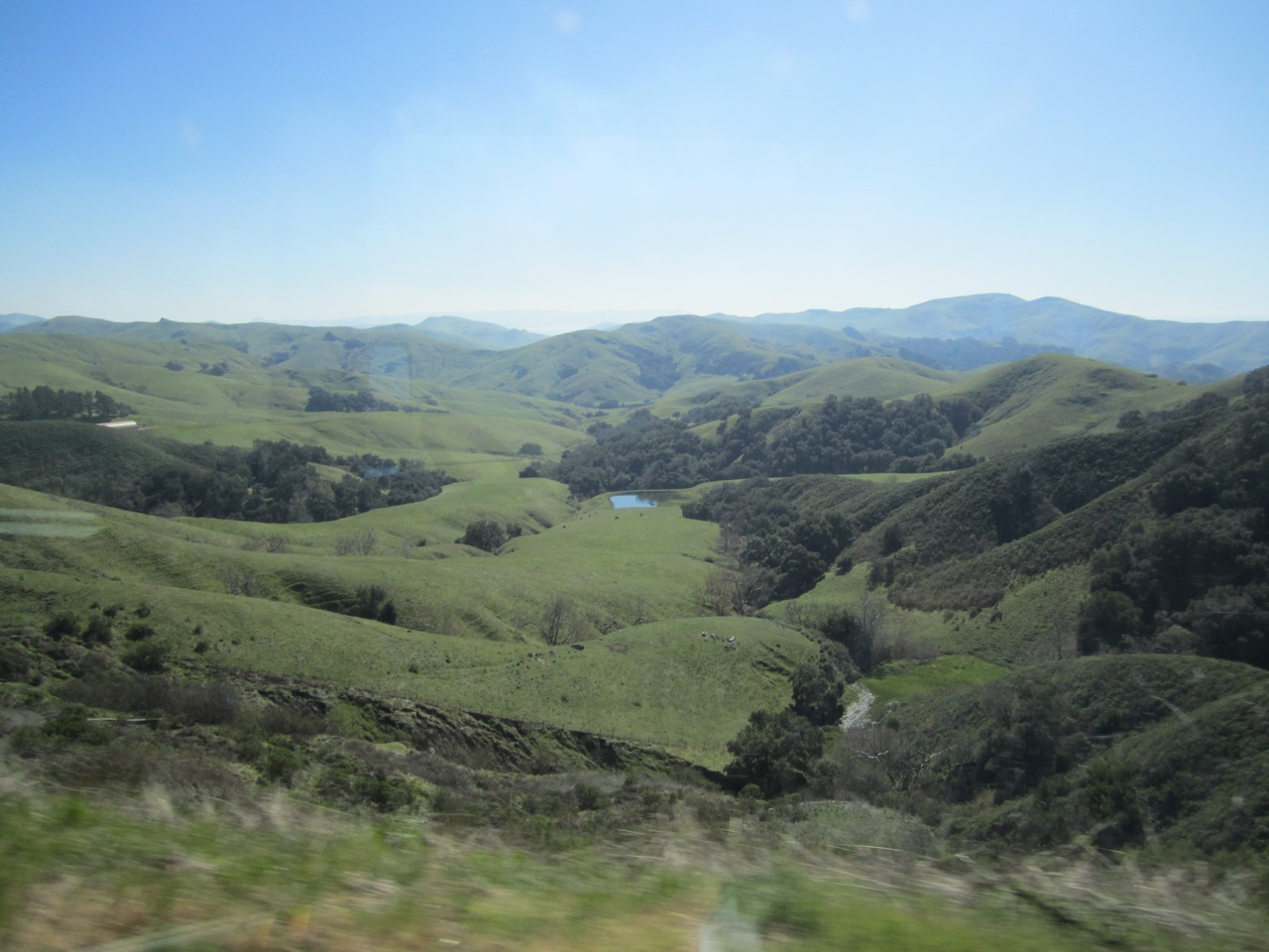 Route 46, One Of The Roads On Our Way To Pacifica, CA