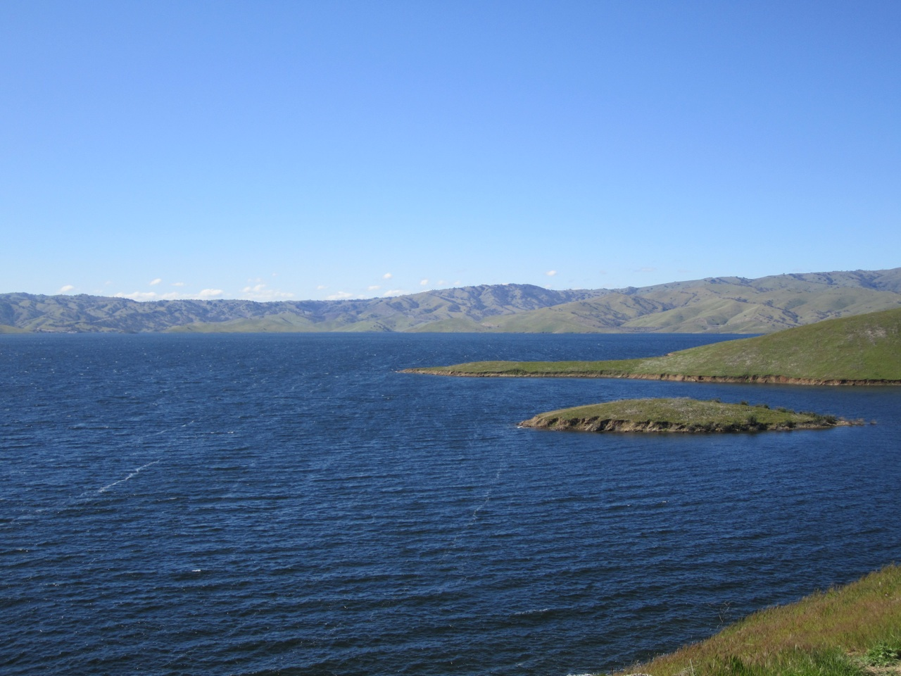 San Luis Reservoir State Recreation Area In Gustine, CA